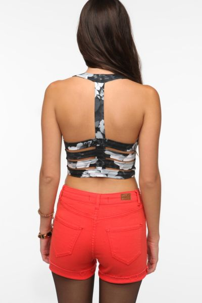 Motel Salvita Strappy-Back Bra Top
