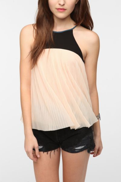 Cooperative Pleated Swing Cami