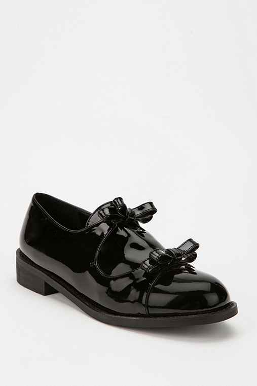 Deena & Ozzy Patent Bow Oxford