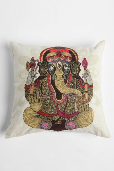 Ganesha Pillow By Valentina Ramos