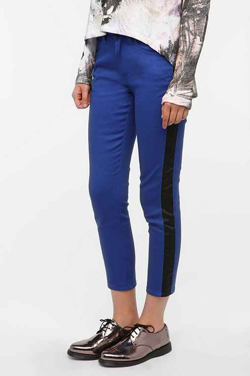 Cheap Monday Ankle Stretch Jean - Tuxedo Stripe