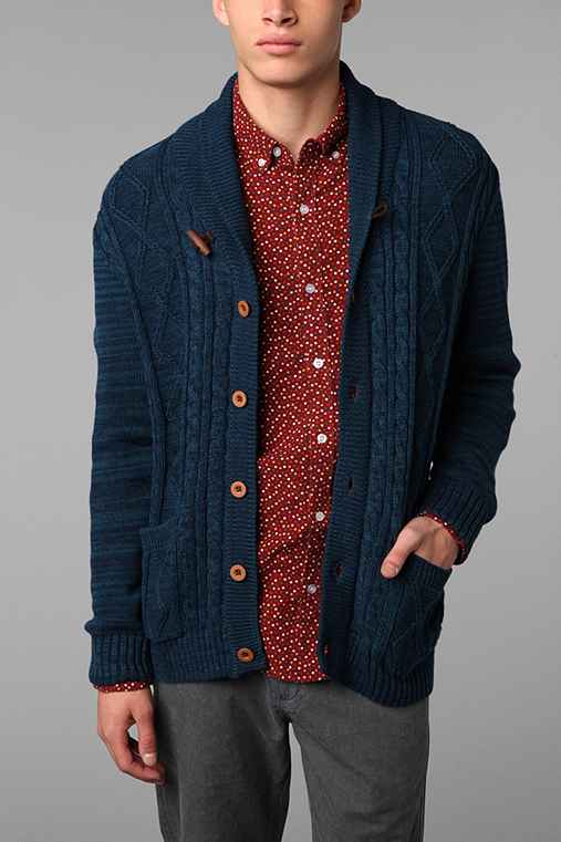 CPO Shawl Cable Cardigan