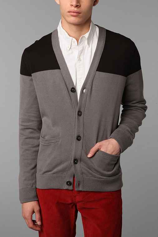 Hawkings McGill Colorblock Cardigan