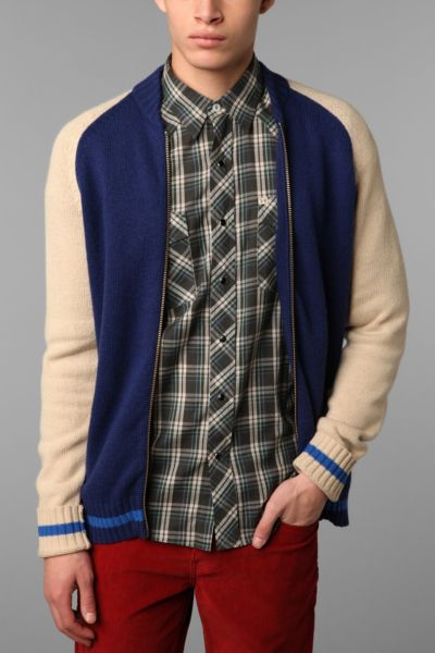 Hawkings McGill Baseball Sweater Jacket