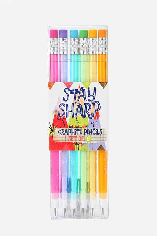 Stay Sharp Mechanical Pencil - Set Of 6
