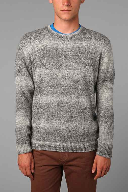 Your Neighbors Marled Wide-Neck Crew Sweater