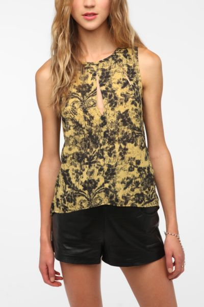 Silence & Noise Spliced Body Tank Top