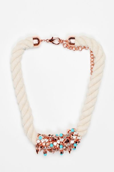 MFP for Urban Outfitters Rhinestone-Wrapped Necklace