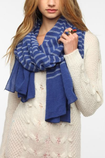 remi & reid Striped Scarf