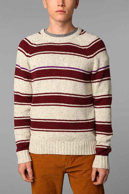 Hawkings McGill Striped Raglan Sweater