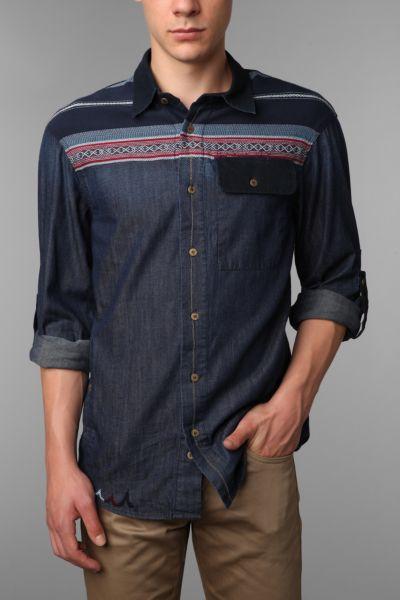Staple Sante Fe Chambray Shirt