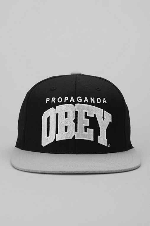OBEY Throwback Snapback Hat