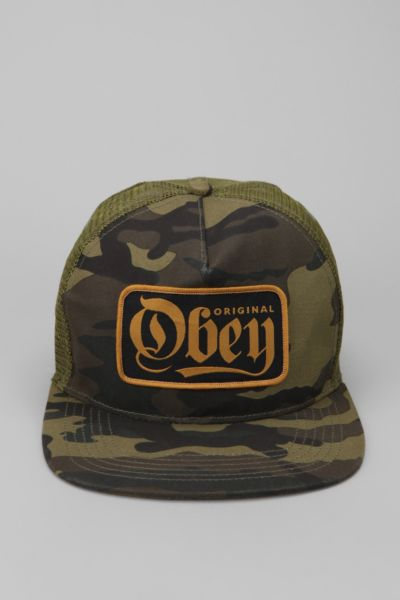 OBEY Stout Trucker Hat