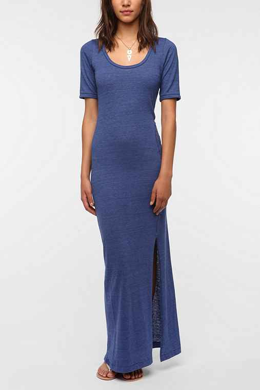 Alternative Knit Maxi Lounge Dress - Urban Outfitters
