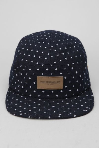 OBEY Auxiliary 5-Panel Hat