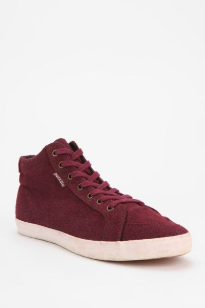 Pointer Footwear Soma Wool High-Top Sneaker