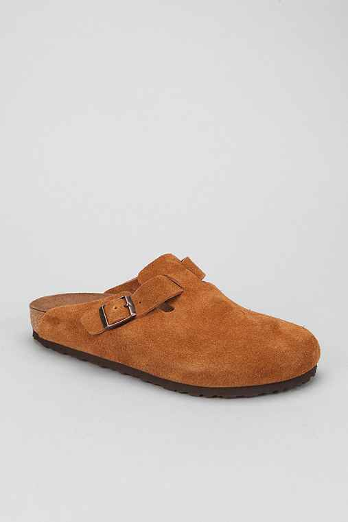 Birkenstock Suede Boston Clog