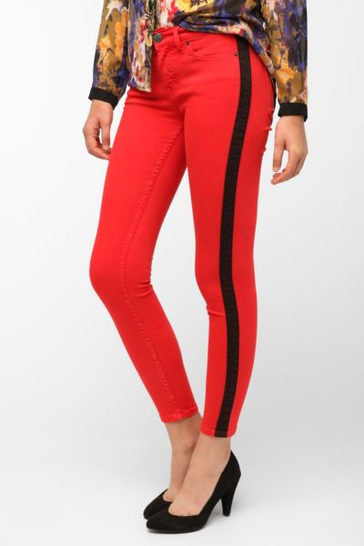BDG Twig Mid-Rise Jean - Red Stripe