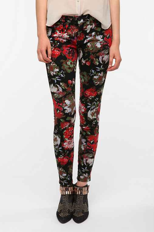 BDG Twig Mid-Rise Jean - Oversized Floral Print