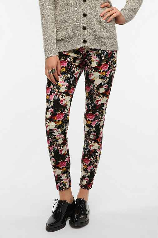 BDG Twig Mid-Rise Jean - Small Floral Print