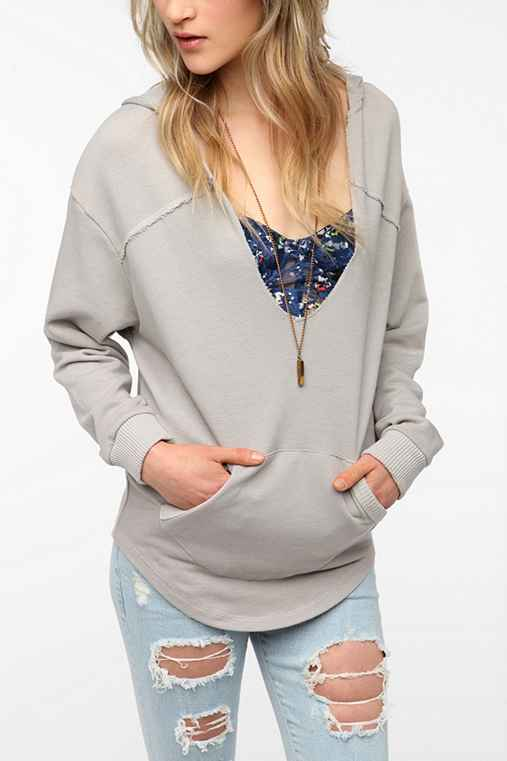 Alternative Dana V-Neck Hoodie Sweatshirt