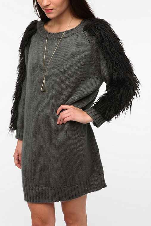 Blackheart Verve Long-Sleeve Sweater Dress