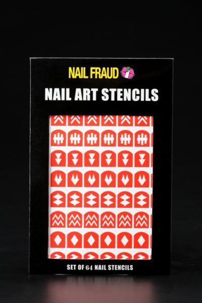 Nail Fraud Nail Stencils