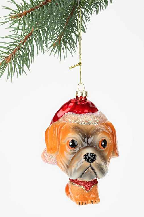 Christmas Pup Ornament