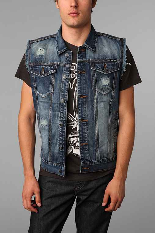 Kill City Worn Wash Vest