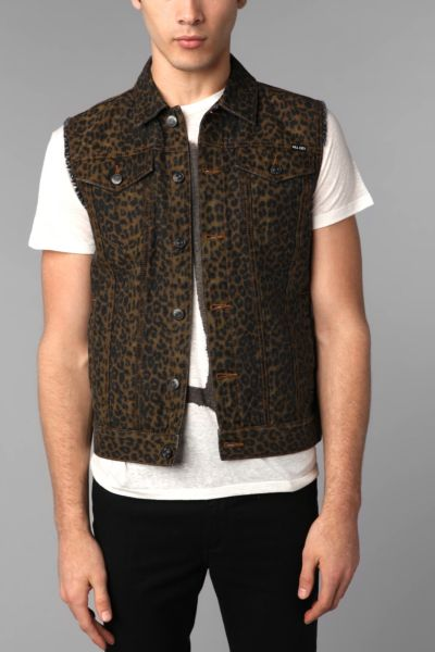 KC By Kill City Leopard Vest