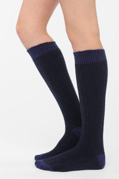 UO Cozy Textured Knee-High Sock