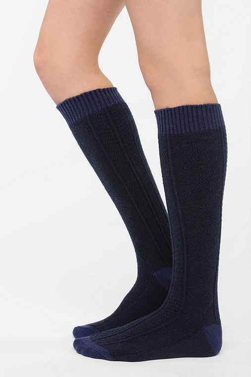UO Cozy Textured Knee-High Sock