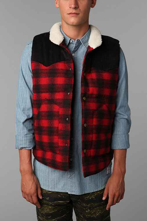 Salt Valley Wool Puffer Vest