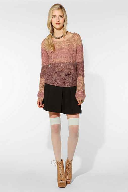 Adrienne Larsen for PhilaU X UO Lurex Sweater