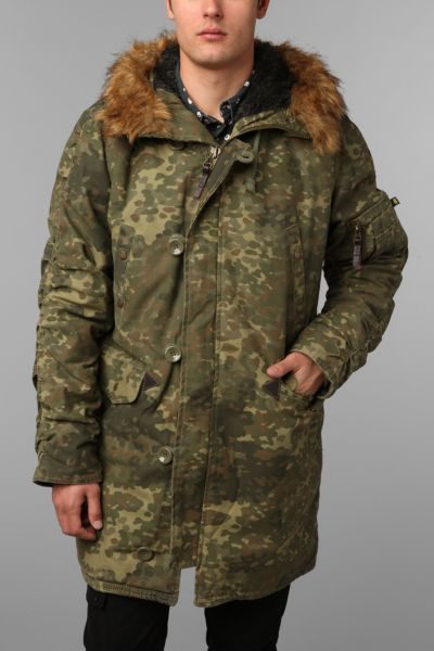Alpha Industries N-3B Cotton Slim Fit Parka