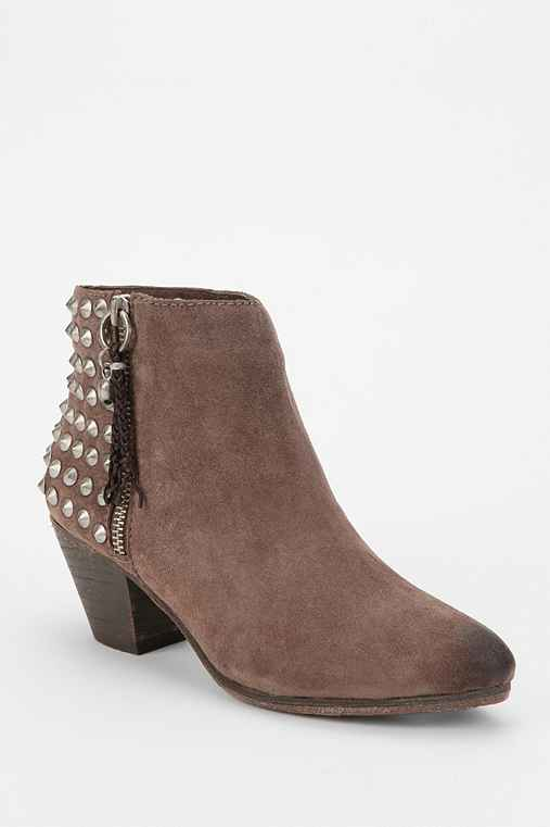 Ash Nevada Pyramid-Stud Ankle Boot