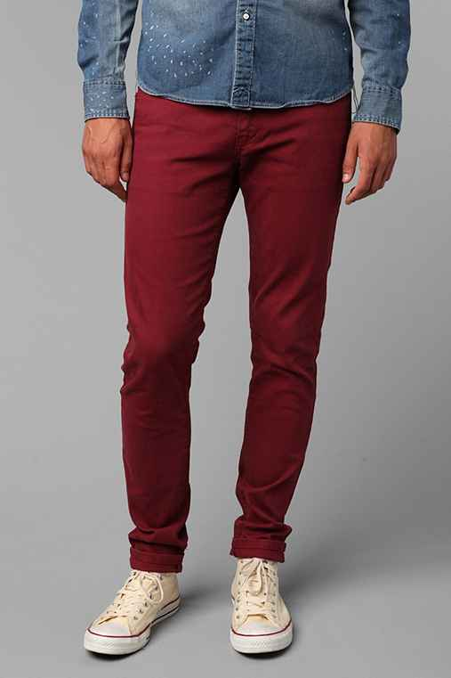 Standard Cloth Cranberry Super Skinny Jean