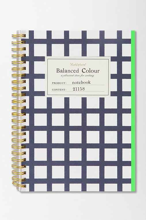 Balanced Color Notebook