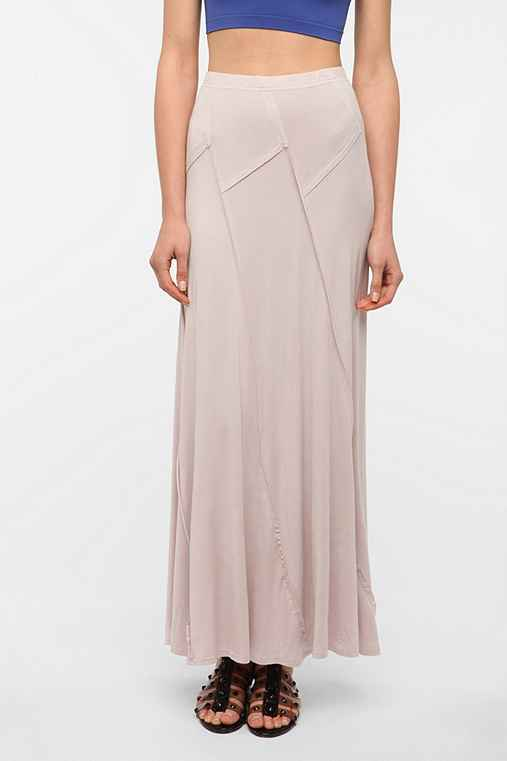 Sparkle & Fade Seamed Knit Maxi Skirt