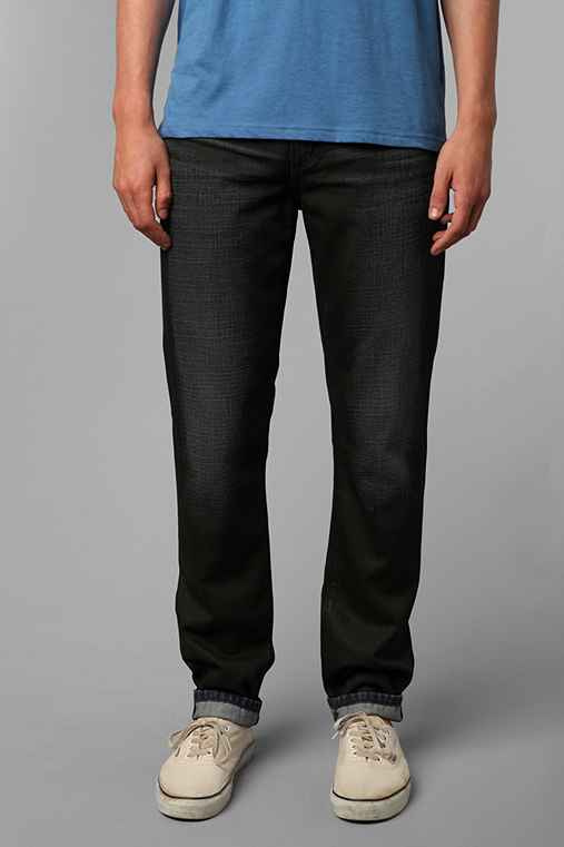 Standard Cloth Leatherette Coated Skinny Jean