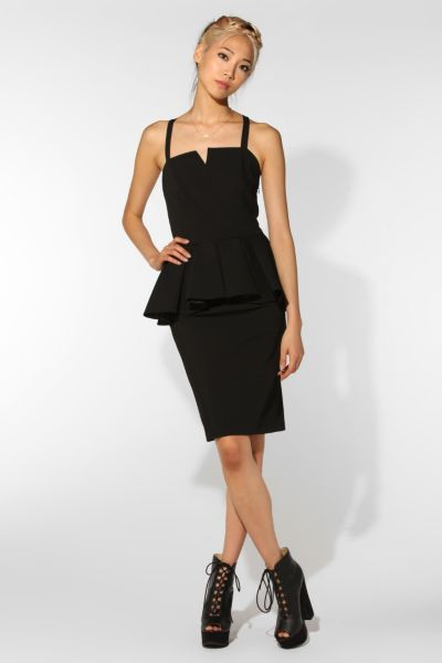 Carin Wester Ronette Peplum Dress