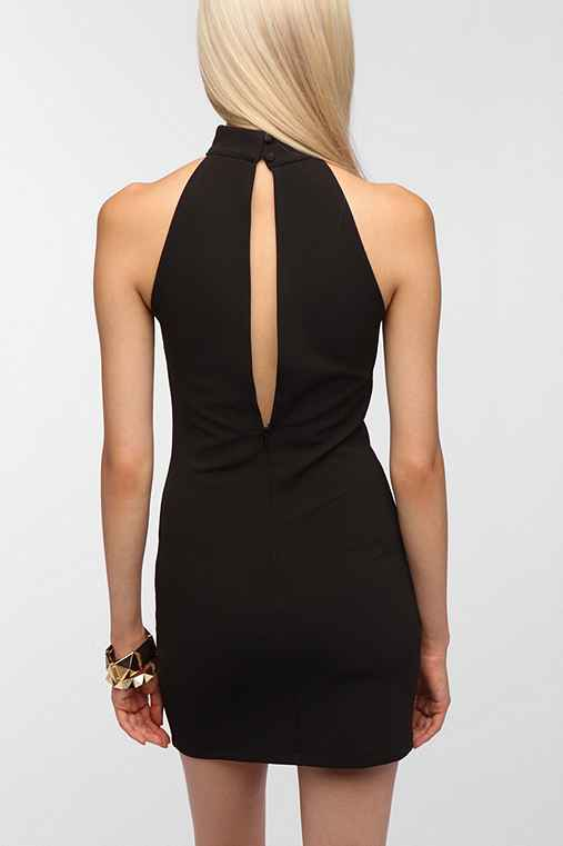 Pins and Needles Bodycon Turtle Neck Dress