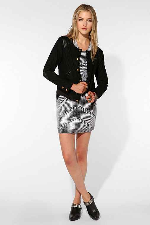 VICE VEDA x UO Quilted Wool Cally Jacket