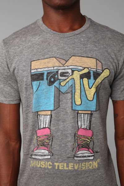 Junk Food MTV Pants Tee