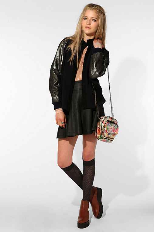 Les Prairies De Paris Saywho Metallic Jacket