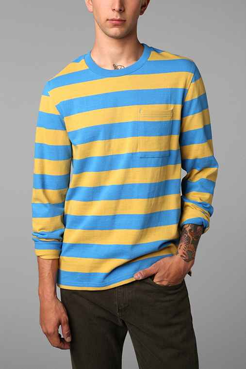 Hawkings McGill Striped Pocket Pullover Shirt