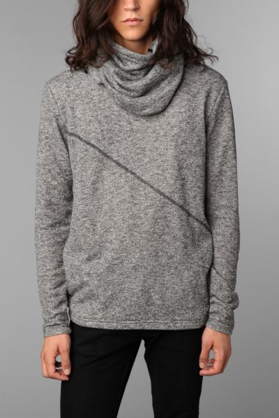 The Narrows Bayard Cowl Convertible Hoodie
