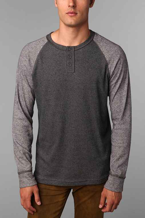 BDG Colorblock Winterlite Henley