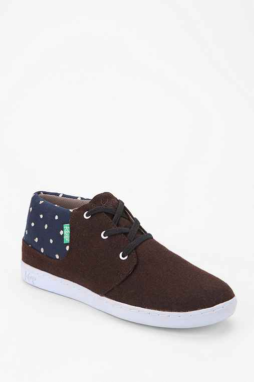 KEEP Swiss Dot High-Top Sneaker