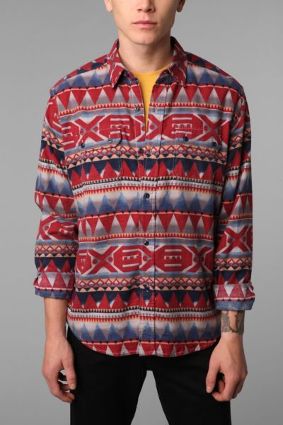 Stapleford Printed Button-Down Shirt